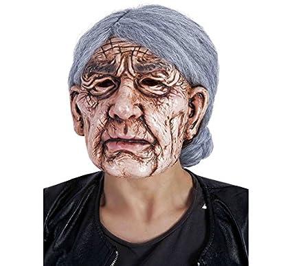 Rubies - Máscara de señora vieja, talla única (Rubies S3210 ...