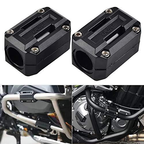 Nicecnc 22/25/28mm Engine Guard Bumper Decor Block Replace Honda Africa Twin CRF1000L NC700X VFR1200X X-ADV 750 X,KTM 1290 1090 1050 1190R Super Adventure 690 Enduro,Suzuki Vstrom DL1000 DL650