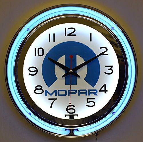 Review Mopar Blue Double Neon