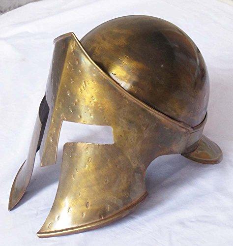 [Medieval Sparta King Spartan Helmet 300 Movie Helmet Halloween Costume Wearable] (Spartan 300 Halloween Costumes)