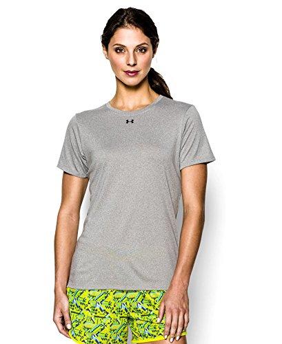 Under Armour Women's UA Locker T-Shirt Medium True Gray Heather