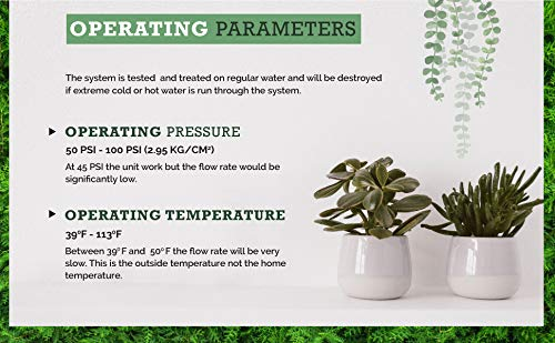 ❥ 3 Stage - Hydroponics Reverse Osmosis Water Filtration System   75 GPD   Plant Growth Hydroponic System 4