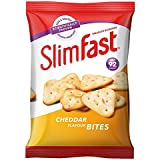 SlimFast Cheddar Bites Snack Bag 22g - Pack of 12