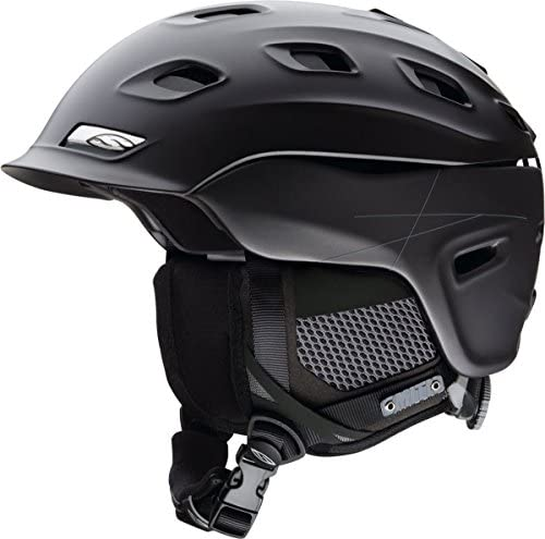 Smith Optics Vantage Adult Ski Snowmobile Helmet – Matte Gunmetal Medium