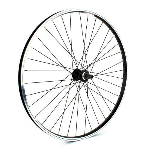Sta Tru Black ST1 36H Rim Rear Wheel (26X1.5 Inch)