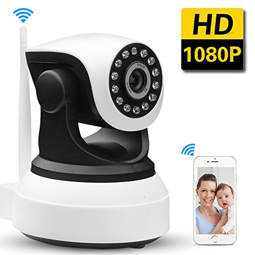SDETER IP Camera 1080P HD Wireless Baby Monitor -Security Camera with