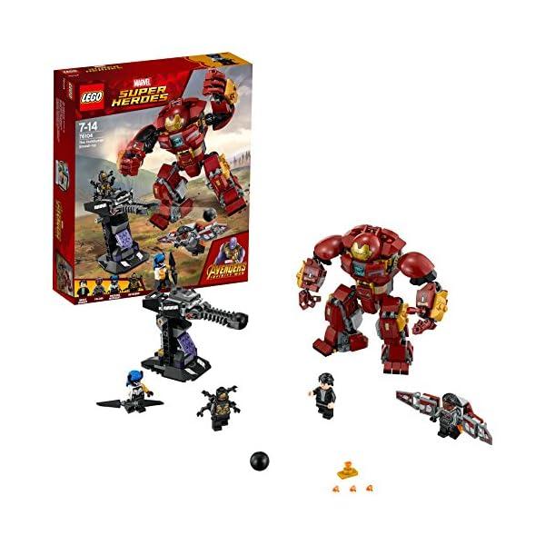 Lego Super Heroes Incursión Demoledora Del Hulkbuster Juguete De