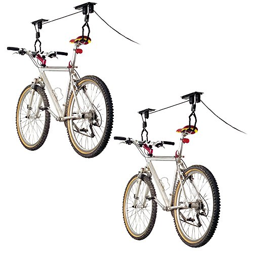 Discount Ramps 2-Bike Elevation Garage Bicycle Hoist Kit