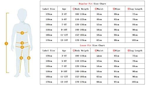 LOKTARC Boys Pull On Jogger Pants Camo Print Cuff Jogging Bottoms Grey(Regular Fit) 13-14T by LOKTARC (Image #7)