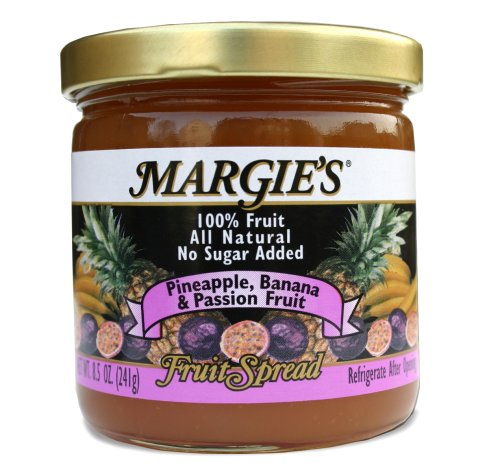 Margie's Pineapple-Banana-Passion Fruit Spread by Margie's Brands