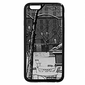 iPhone 6S Plus Case, iPhone 6 Plus Case (Black & White) - Silence in the winter night