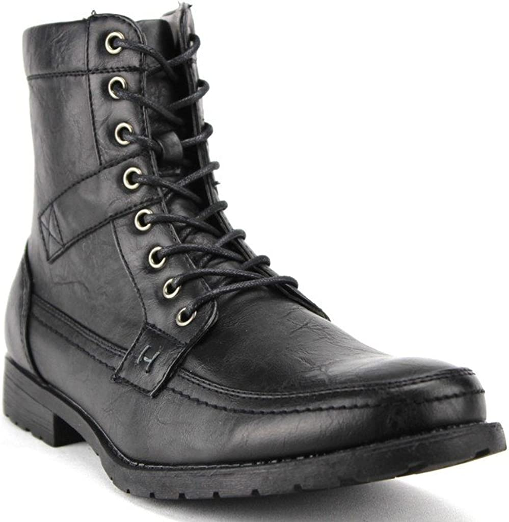 Calf High Military Combat Boots