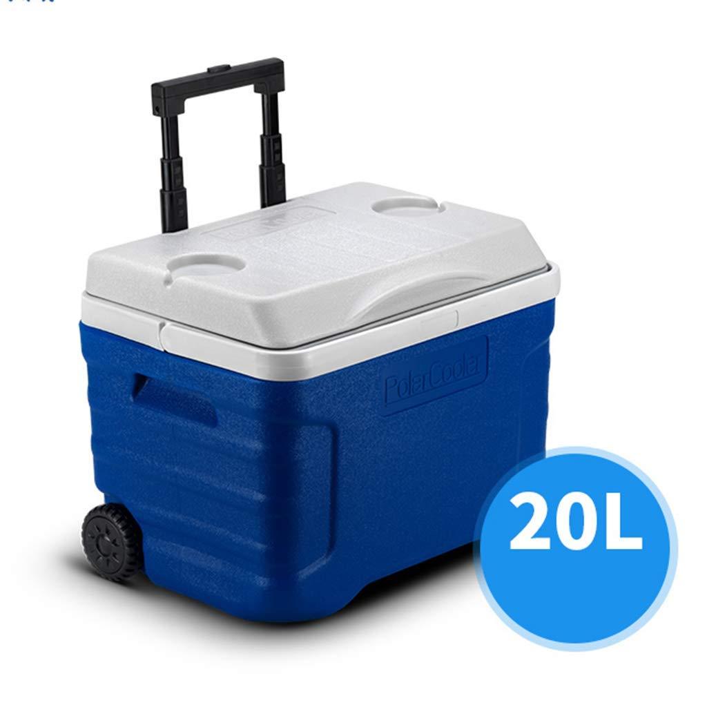 ZLL Coche Nevera Refrigeradora Caja Ruedas grandes 21/42 Cuarto de ...