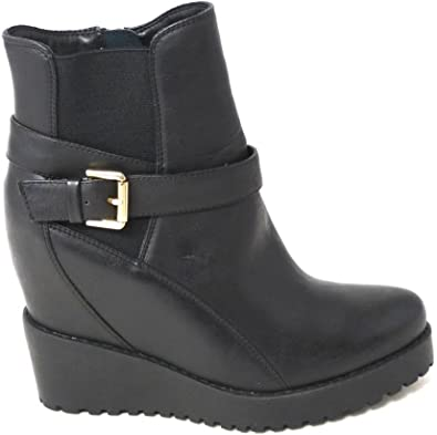 WOMENS HIGH BLOCK HEEL CLEATED SOLE PLATFORM ZIP LACE UP ANKLE BOOTS SIZE 3-8