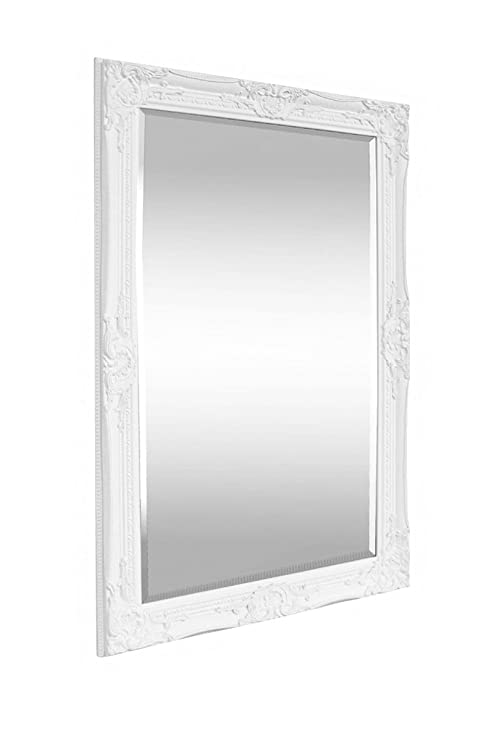 Specchio da Parete in Stile Shabby Chic - Legno Massello - Fatto a ...