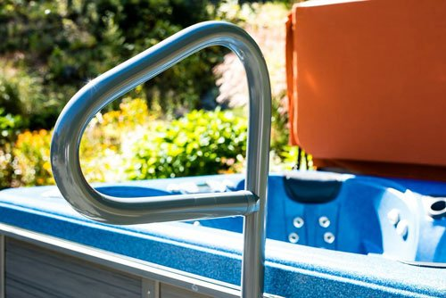 Hot Tub Products SS-36-DG Spa Ease 36 in. Safety Rail Deck Series (Series Deck Tub)
