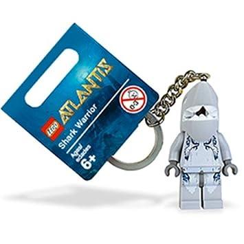LEGO Atlantis: Tiburón Warrior Llavero: Amazon.es: Juguetes ...