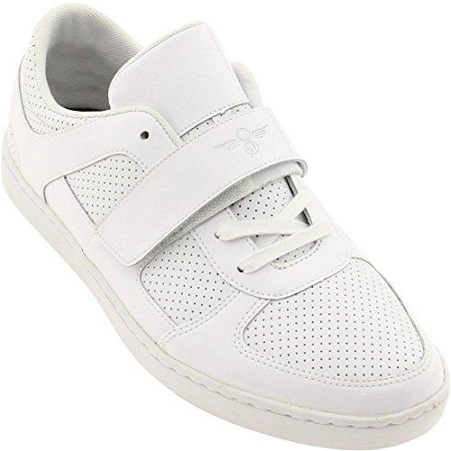 Creative Recreation Men's Pinelli Low-Top Sneaker,White,10 M US