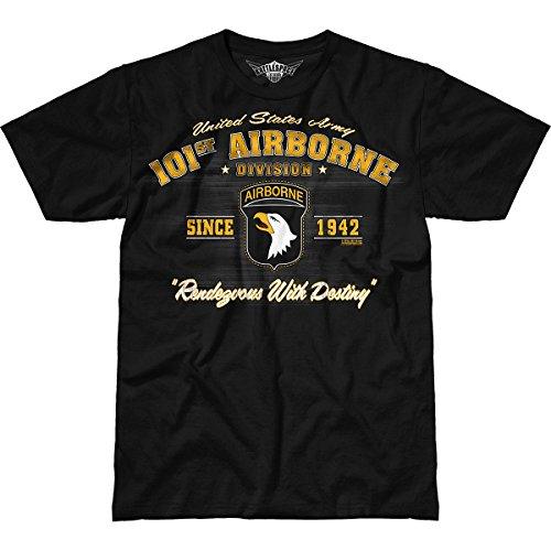 7.62 Design Army 101st Airborne Division 'Vintage' Men's Battlespace T-Shirt 2X - 101st Airborne Shirts
