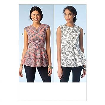 Amazon.com: Kwik Sew Ladies Sewing Pattern 4112 Princess Seam Double ...
