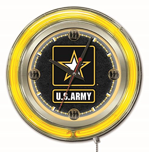U.S. Army Neon Clock (Us Army Neon Clock)