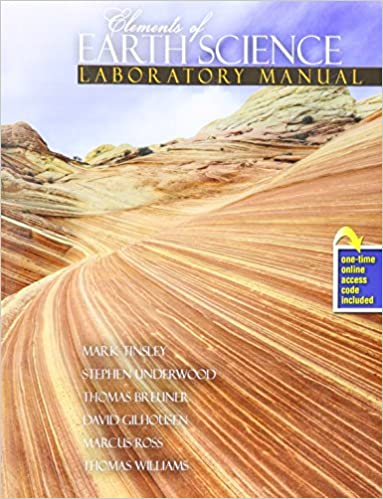 Amazon com: Elements of Earth Science (9781465250605): TINSLEY MARK