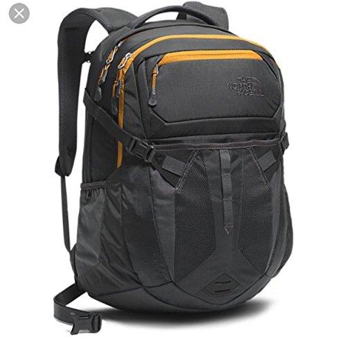 "66de6dcd9d The North Face unisex Recon Backpack in Asphalt Grey Citron Yellow 15""Laptop"