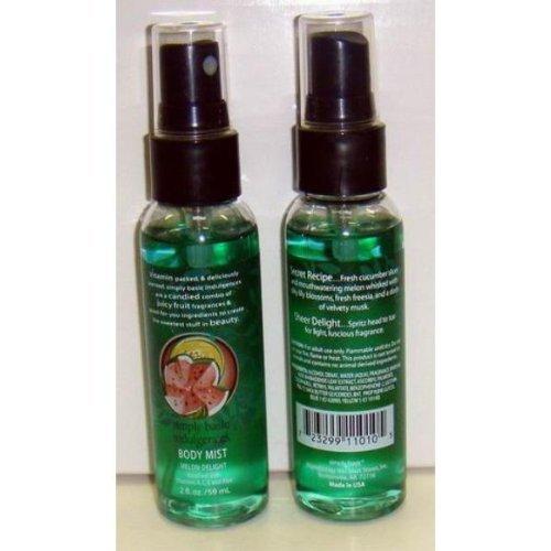 Simply Basic Melon Delight 2 Oz. Body Mist Spray Case Pack -