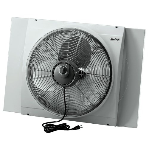 "air king 9166 20"" whole house window fan"