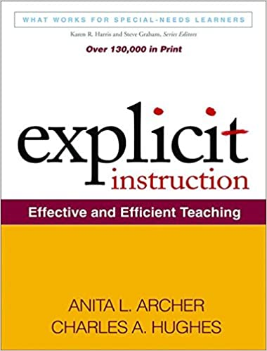 Amazon Explicit Instruction Effective And Efficient Teaching