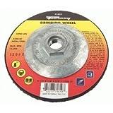 Forney Grinding Wheel 1/4 '' Thck, 4-1/2 '' Dia Metal