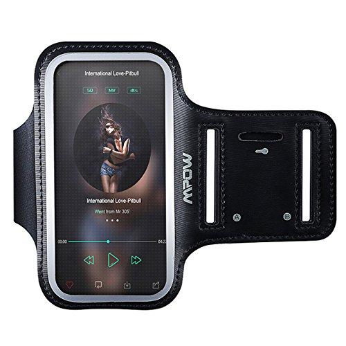 Mpow Sportarmband Hülle Armtasche Hülle Sweatproof Rennen Case und Schlüsselhalter für iPhone 6 (4,7