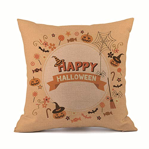 GOVOW Top Halloween for Kids 2018 Sofa Bed Home Decoration Festival Pillow Case Cushion Cover