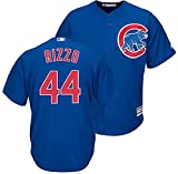 Youth Anthony Rizzo Chicago Cubs Cool Base Alternate Tackle Twill Baseball Jersey