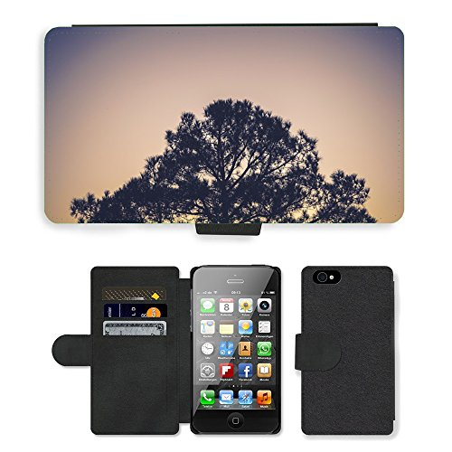 PU Leather Cover Custodia per // M00421596 Plante Arbre Nature Environnement // Apple iPhone 4 4S 4G