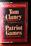 Tom Clancy - Patriot Games - Read by Martin Sheen (audio cassette)
