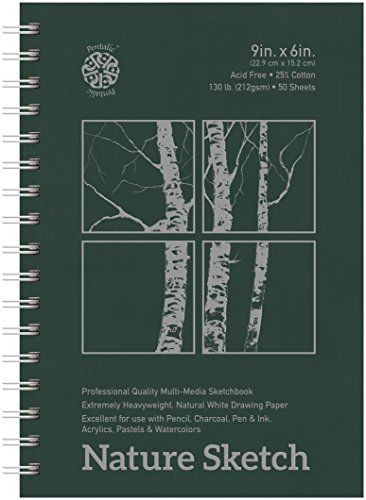 Pentalic Nature Sketch Pad, 9-Inch by ()