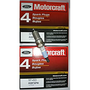 Pack of 8 Genuine Motorcraft Spark Plug SP-493 AGSF32PM