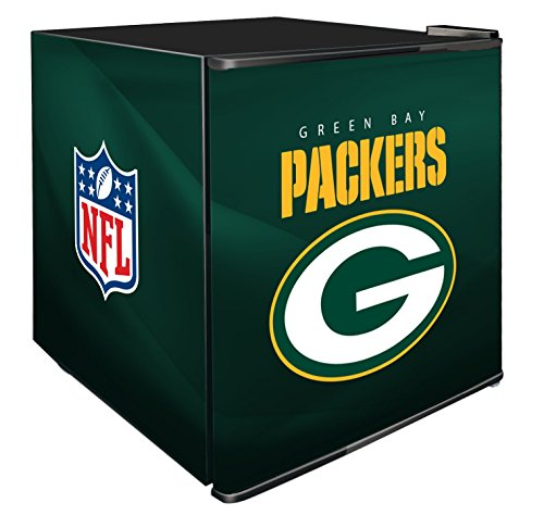 NFL Green Bay Packers Refrigerated Counter Top Cooler, Small, Green by SG Merchandising Solution