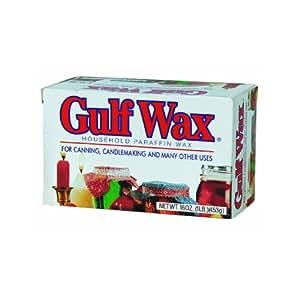 Gulfwax Paraffin Wax 1 Pound