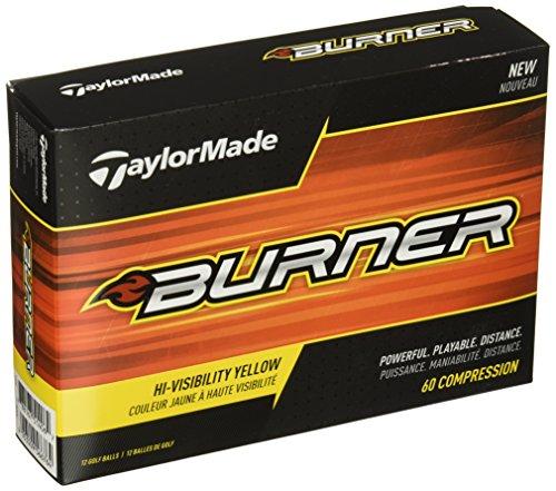 TaylorMade Golf 2017 Burner Golf Balls (One Dozen)