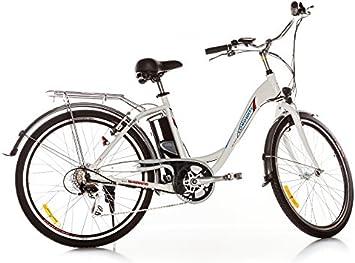Longwise LWEB-L2606 - Bicicleta eléctrica (10 Ah, 7 velocidades, 250 W, 26