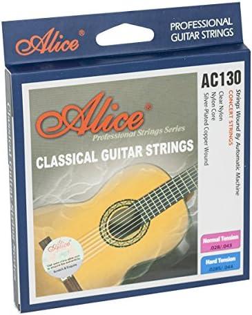 Ortola AC130N - Juego cuerdas guitarra clásica, color estándar ...