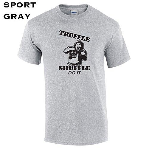 (154 Truffle Shuffle Funny Men's T Shirt)
