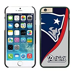 NFL iPhone 6 4.7 Inches Case New England Patriots Black iPhone 6 Cell Phone Case HGEROVFD2583