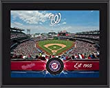 "Washington Nationals 10"" x 13"" Sublimated Team Stadium Plaque - Fanatics Authentic Certified - MLB Team Plaques and Collages"