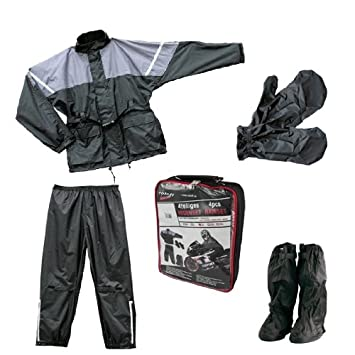Roleff Racewear Juego de Chaqueta y Pantalón Impermeables 4 ...