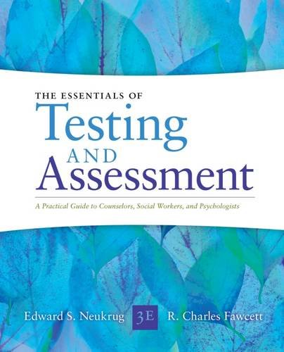 Essentials Of Testing And Assessment A Practical Guide For Counselors Social Workers And Psychologists Epub