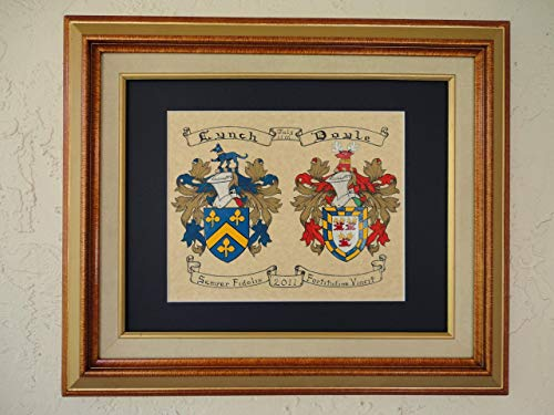 Double Coat of Arms. ()
