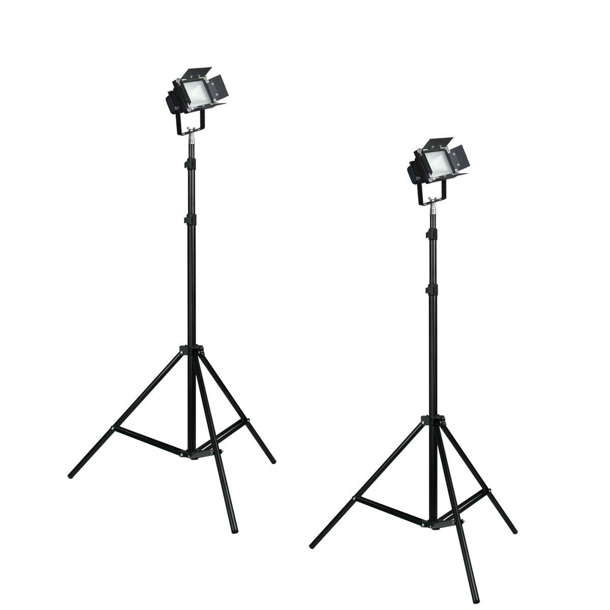 Portable LED Make Up Artist 2 Light Kit Glamour Bridal Work Shop